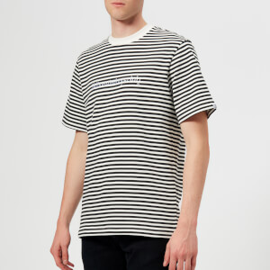 Billionaire Boys Club Men's Striped T-Shirt - White
