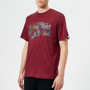 Billionaire Boys Club Men's Paisley Arch Logo T-Shirt - Red