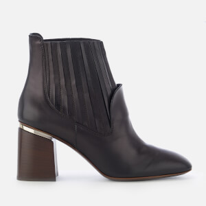 Tod's Women's Chelsea Heeled Boots - Black