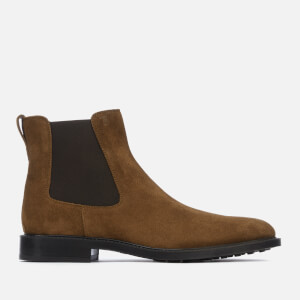 Tod's Men's Suede Chelsea Boots - Brown