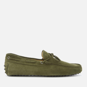 Tod's Men's Driving Shoes - Green