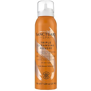 Sanctuary Spa Triple Cleansing Mousse 150ml