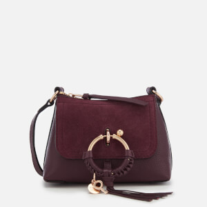See By Chloé Women's Tassel Detail Shoulder Bag - Obscure Purple
