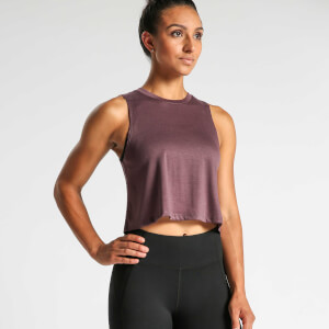 IdealFit Flowy Crop Top - Mauve