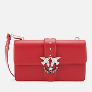 Pinko Women's Love Simply Bag - Red