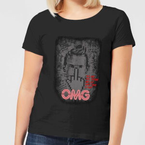 American Gods Technical Boy Women's T-Shirt - Black