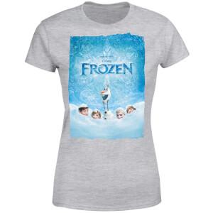 Frozen Snow Poster Women's T-Shirt - Grey