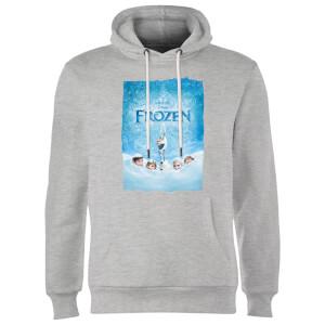 Disney Frozen Snow Poster Hoodie - Grey