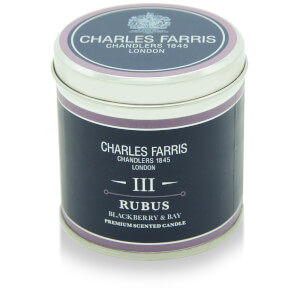Charles Farris Signature Rubus Tin Candle 300g