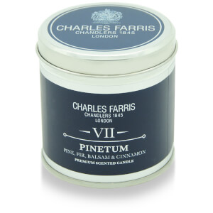 Charles Farris Signature Pinetum Tin Candle 300g