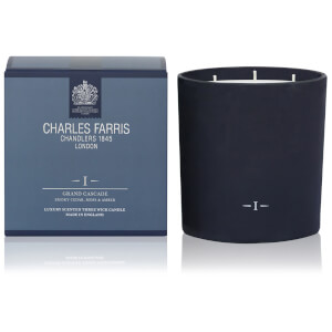 Charles Farris Signature Grand Cascade 3 Wick Candle 1475g