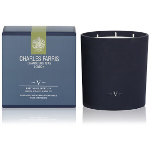 Charles Farris Signature British Expedition 3 Wick Candle 1475g