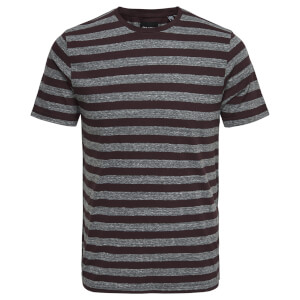 Only & Sons Men's Rock Stripe T-Shirt - Fudge