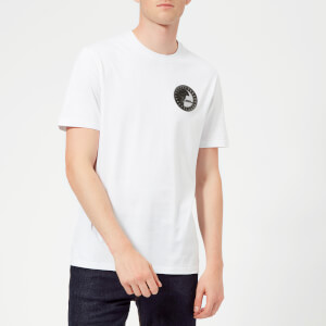 Versace Collection Men's Small Logo T-Shirt - Bianco