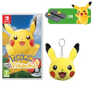 Pokémon: Let's Go, Pikachu! + Pikachu Keychain