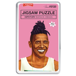 Hipstory Jigsaws - Obama from I Want One Of Those