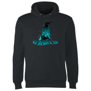 Harry Potter Hogwarts Silhouette Hoodie - Black