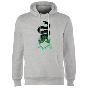 Harry Potter Basilisk Silhouette Hoodie - Grey