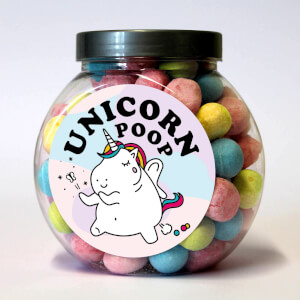 Unicorn Poop Bon Bon Jar