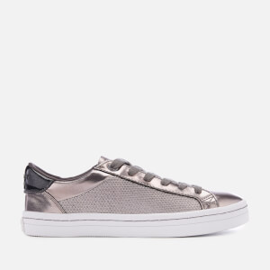 Superdry Women's Skater Sleek Lo Trainers - Pewter