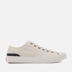 Superdry Men's Trophy Classic Low Trainers - Ecru
