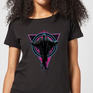 T-Shirt Femme Détraqueurs Néon - Harry Potter - Noir