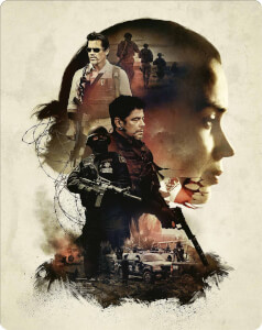 Sicario 4K Ultra HD (Includes Blu-Ray Version) - Zavvi UK Exclusive Steelbook