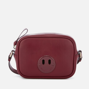 Hill & Friends Women's Happy Mini Camera Bag - Oxblood