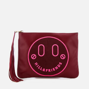 Hill & Friends Women's Slouchy Pouch Bag - Oxblood