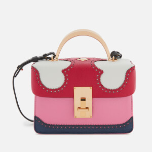 The Volon Women's Data Alice Small Bag - Red/White