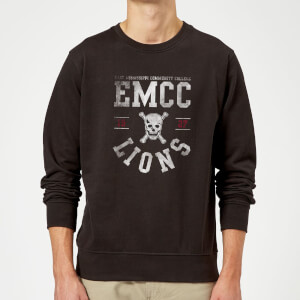 Sweat Homme Lions - East Mississippi Community College - Noir