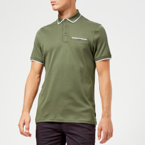 Ted Baker Men's Jelly Polo Shirt - Khaki