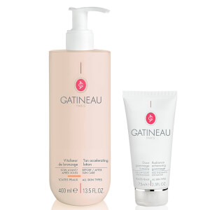 Gatineau Tan Accelerator and Radiance Gommage Duo (Worth £85.00)
