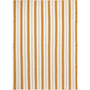 Ferm Living Pinstripe Blanket - Mustard