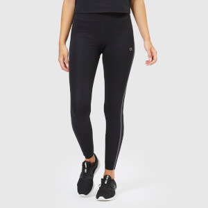 Calvin Klein Performance Womens's Full Length Butt Lift Tights - CK Black