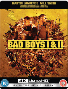 Bad Boys I & II Kollektion 4K Ultra HD - Zavvi Exklusives Pop Art Steelbook