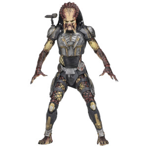 "NECA Predator (2018) - 7"" Scale Action Figure - Ultimate Fugitive Predator"