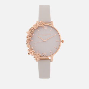 Olivia Burton Women's Case Cuffs Watch - Blush/Rose Gold
