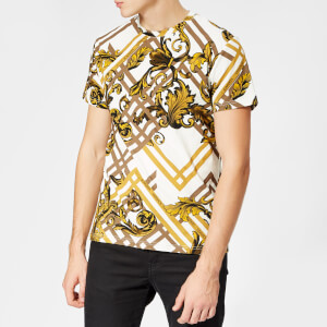 Versace Jeans Men's All Over Print T-Shirt - Multi