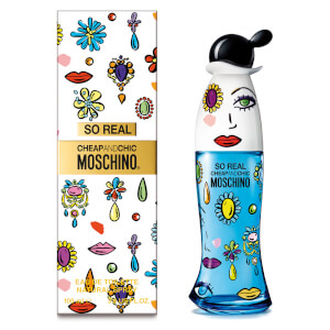 Moschino So Real Eau de Toilette 100ml Vapo