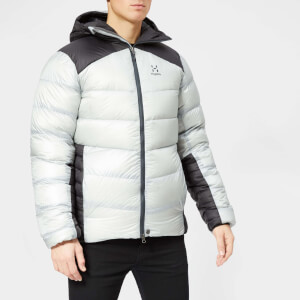 Haglofs Men's Mojo Down Hooded Jacket - White/Black