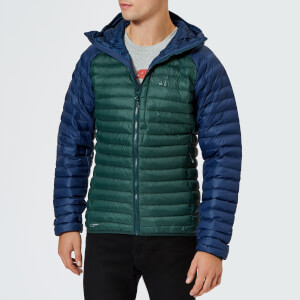 Haglofs Men's Essens Mimic Hooded Jacket - Mineral/Tan Blue