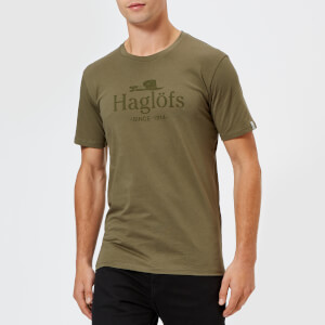 Haglofs Men's Camp Short Sleeve T-Shirt - Sage Green