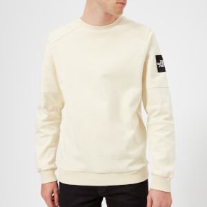 The North Face Men's Fine 2 Crew Sweatshirt - Vintage White