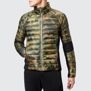 The North Face Men's Crimptastic Hybrid Jacket - New Taupe Green Macrofleck Print