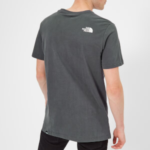 The North Face Men's Fine 2 Short Sleeve T-Shirt - Asphalt Grey: Image 2