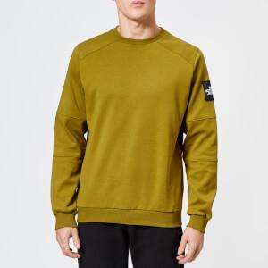 The North Face Men's Fine 2 Crew Sweatshirt - Fir Green