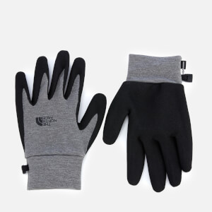 The North Face Etip Grip Gloves - Medium Grey Heather
