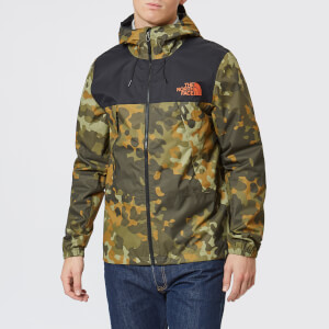 The North Face Men's 1990 Mountain Q Jacket - New Taupe Green Macrofleck Print
