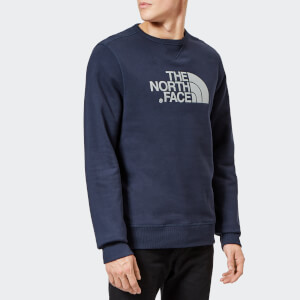 The North Face Men's Drew Peak Crew Neck Sweatshirt - Urban Navy